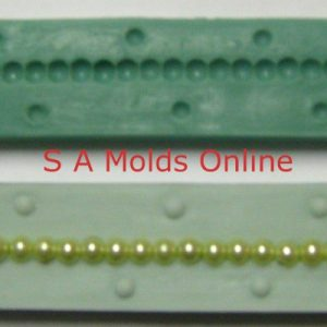String of Pearls Silicone Mold