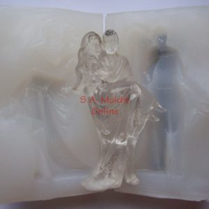 Bride and Groom 3D Silicone Mold
