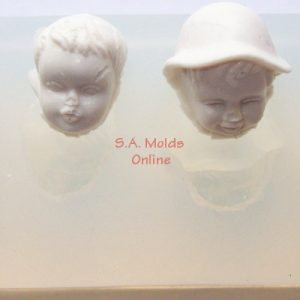Baby Face Set Silicone Molds