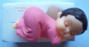 Baby Kneeling Silicone Mould