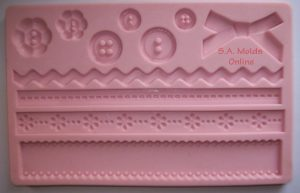 Button and Rope tHeme set Silicone Mold