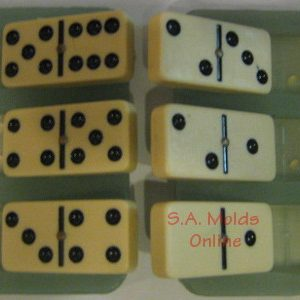 Domino Set Silicone Mold