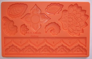 Flower and Leaf Theme Set Silicone Mold