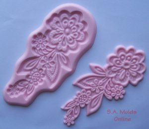 Flower Lace Silicone Mould
