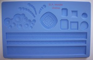Jewelry and Rope Theme Silicone Mold