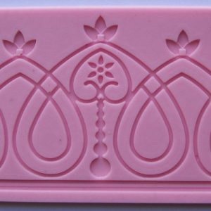 Crown and Twirl Silicone Mold