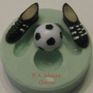 Soccer Ball and Boot Silicone Mold