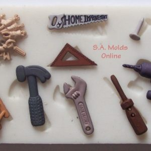 Tool Set Silicone Mold