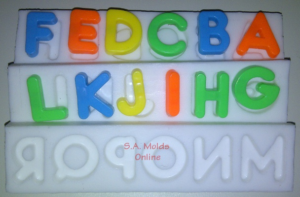 Alphabet Silicone Mold Set