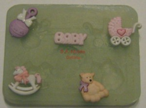 Baby Set Silicone Mold