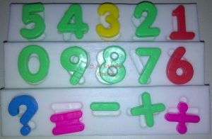 Number Set Silicone Mold