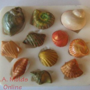 Shell Set Silicone Mold