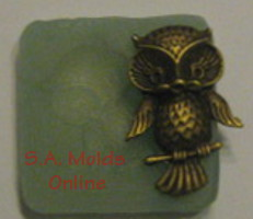Small Owl Silicone Mold