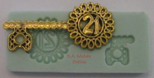 A 21st Key Silicone Mold