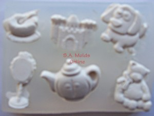 A Assorted Set Silicone Mold