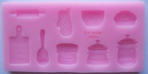 Bakers Set Silicone Mold