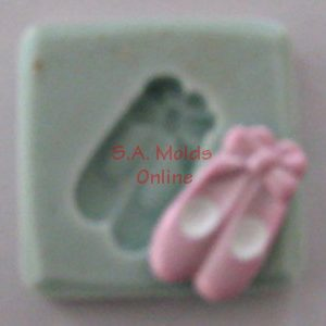 Ballet Shoes Silicone Molds