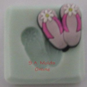Beach Sandals Silicone Molds