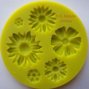 Flower Set Silicone Mold