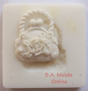 Small Handbag Silicone Mold