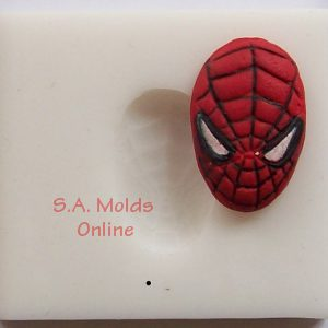 Spider Man Face Silicone Mold