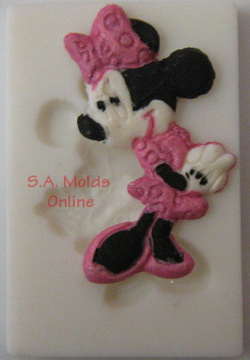 Minnie Mouse Silicone Mold