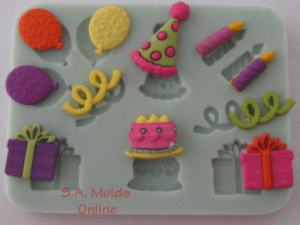 Party Set Silicone Mold