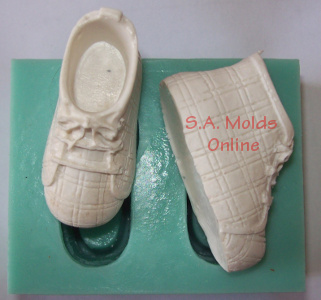 Shoe Set Silicone Mold
