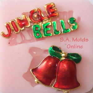 Jingle Bells Silicone Molds