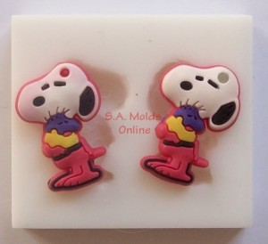 Snoopy Set Silicone Mold