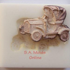 Small Vintage Car Silicone Mold