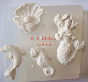 Sea Set Silicone Mold