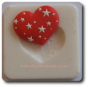 Star Heart Silicone Mold
